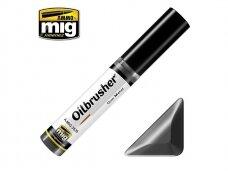 AMMO MIG - Oilbrusher - GUN METAL