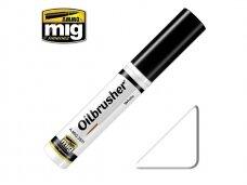 AMMO MIG - Oilbrusher - WHITE