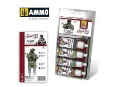 AMMO MIG - RUSSIAN FLORA UNIFORMS. FIGURES SET. AMIG7031