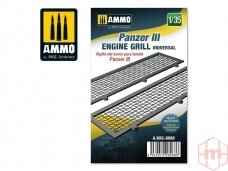 AMMO MIG - Panzer III engine grilles universal, 1/35, 8088