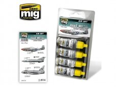 AMMO MIG - BARE METAL AIRCRAFT COLORS. AMIG7216