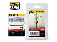 AMMO MIG - RIGGING - MEDIUM 0,03 mm. AMIG8018