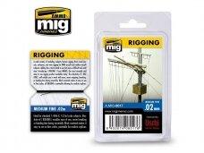 AMMO MIG - RIGGING - FINE 0,02 mm. AMIG8017