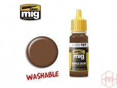 AMMO MIG - WASHABLE EARTH, 17ml. 0107