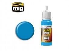 AMMO MIG - CRYSTAL LIGHT BLUE, 17ml. 0098