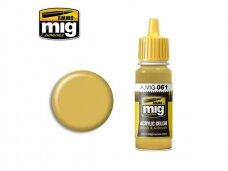 AMMO MIG - WARM SAND-YELLOW, 17ml. 0061