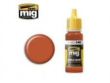 AMMO MIG - MEDIUM RUST, 17ml. 0040