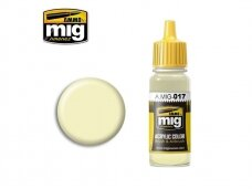 AMMO MIG - RAL 9001 CREMEWEISS , 17ml. 0017