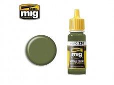AMMO MIG - FS 34151 ZINC CHROMATE GREEN (INTERIOR GREEN), 17ml. 0220