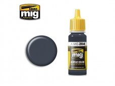 AMMO MIG - FS 36118 MEDIUM GUNSHIP GRAY, 17ml. 0204
