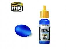 AMMO MIG - WARHEAD METALLIC BLUE, 17ml. 0196