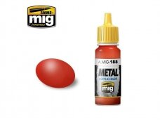 AMMO MIG - METALLIC RED, 17ml. 0188