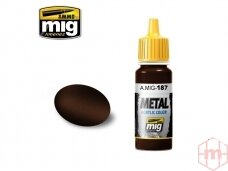 AMMO MIG - JET EXHAUST BURNT IRON, 17ml. 0187