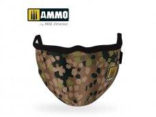 AMMO MIG - Erbsenmuster AMMO Face Mask. AMIG8067