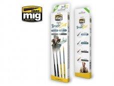 AMMO MIG - FIGURES BRUSH SET. AMIG7600