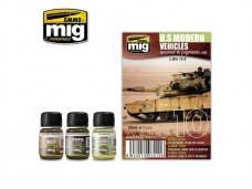 AMMO MIG - US MODERN VEHICLES SET. AMIG7410