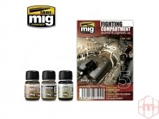 AMMO MIG - FIGHT COMPARTMENT SET. AMIG7404