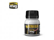 AMMO MIG - ULTRA GLUE - FOR ETCH, CLEAR PARTS & MORE 40ml, 2031