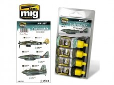 AMMO MIG - LUFTWAFFE WWII LATE COLORS. AMIG7209