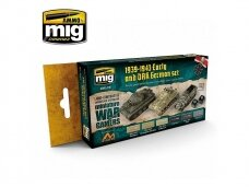 AMMO MIG - WARGAME EARLY AND DAK GERMAN SET. AMIG7116