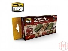 AMMO MIG - WARGAME 1945 LATE GERMAN SET. AMIG7118
