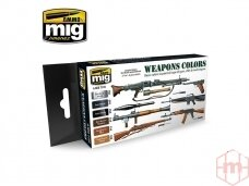 AMMO MIG - WEAPONS COLORS. AMIG7123