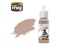 AMMO MIG - Akriliniai dažai figūrėlėms LIGHT SAND FS-33727, 17ml. F511