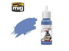 AMMO MIG - Akriliniai dažai figūrėlėms DEEP COBALT BLUE, 17ml. F520