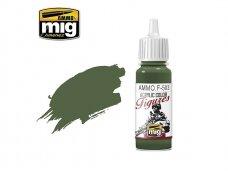 AMMO MIG - Akriliniai dažai figūrėlėms DARK OLIVE GREEN FS-34130, 17ml. F503