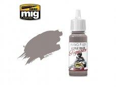 AMMO MIG - Akriliniai dažai figūrėlėms GREY LIGHT BROWN, 17ml. F521