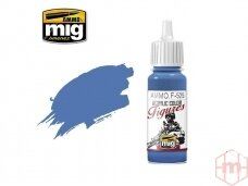 AMMO MIG - Akriliniai dažai figūrėlėms MEDIUM BLUE, 17ml. F525
