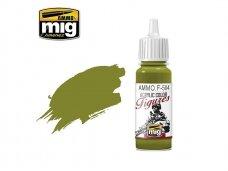 AMMO MIG - Akriliniai dažai figūrėlėms YELLOW GREEN FS-34259, 17ml. F504