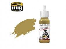 AMMO MIG - Akriliniai dažai figūrėlėms PALE YELLOW GREEN FS-33481, 17ml. F505