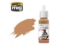 AMMO MIG - Akriliniai dažai figūrėlėms UNIFORM SAND YELLOW FS-32555, 17ml. F510