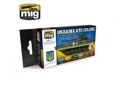 AMMO MIG - UKRAINE ATO COLORS. AMIG7125