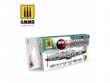 AMMO MIG - WWII IMPERIAL JAPANESE ARMY SET. AMIG7229