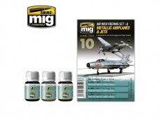 AMMO MIG - METALLIC AIRPLANES & JETS. AMIG7423