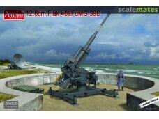 Amusing Hobby - 12.8cm Flak 40 & FuMG 39, Scale: 1/35, 35A020