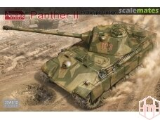 Amusing Hobby - Panther II Prototype Design Plan, 1/35, 35A012