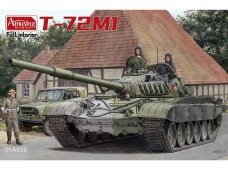Amusing Hobby - T-72M1 (with Full Interior), 1/35, 35A038