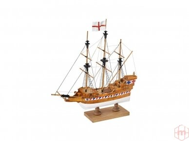 Amati - Elizabethan Galleon - Pirmas žingsnis, Mastelis: 1/135, A600,02 3