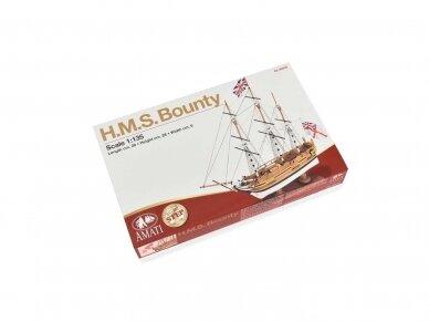 Amati - H.M.S. Bounty - Pirmas žingsnis, Mastelis: 1/135, A600,04
