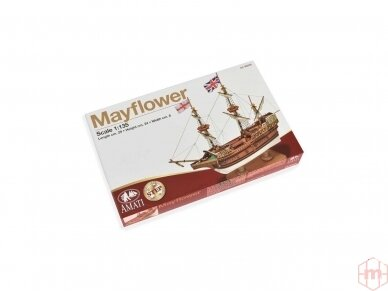 Amati - Mayflower - Pirmas žingsnis, Mastelis: 1/135, A600,05