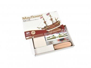 Amati - Mayflower - Pirmas žingsnis, Mastelis: 1/135, A600,05 2
