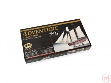 Amati - Pirate Ship Adventure, 1/60, B1446