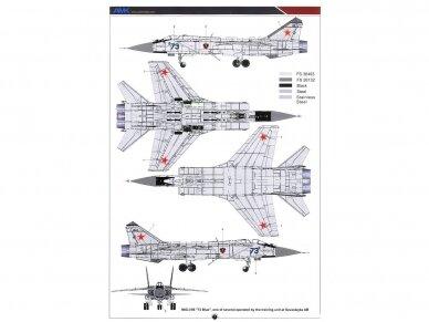 AMK - Mikoyan MiG-31B/BS Foxhound, 1/48, 88008 15