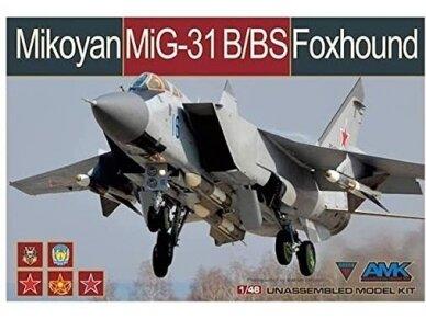 AMK - Mikoyan MiG-31B/BS Foxhound, 1/48, 88008