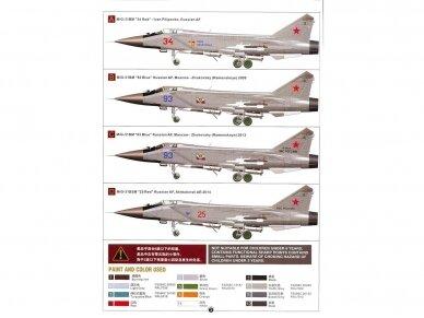 AMK - Mikoyan MiG-31BM/BSM Foxhound, 1/48, 88003 2