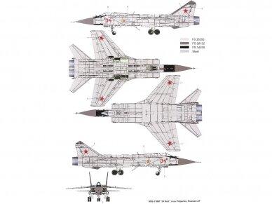 AMK - Mikoyan MiG-31BM/BSM Foxhound, 1/48, 88003 3