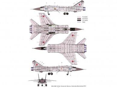 AMK - Mikoyan MiG-31BM/BSM Foxhound, 1/48, 88003 5